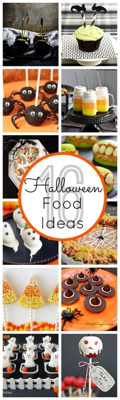 Some great Halloween food ideas.