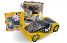 You've got to love a toy that also promotes literacy, which is why these race cars from Worx Toys are so great. To enter, click through to the site and tell us about your favorite educational toy. Contest closes Friday, Sept. 21.
