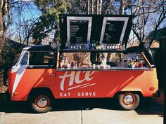 Here's a mobile bar in a converted VW bus #Denver https://www.facebook.com/theacebarbus