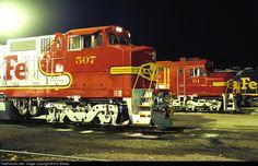 atchison, topeka and santa fe railway | RailPictures.Net Photo: ATSF 507 Atchison, Topeka  Santa Fe (ATSF) GE ...