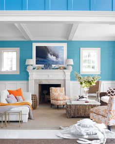 Holly Peterson Home - Hamptons Home Of Holly Peterson - ELLE DECOR
