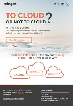 To cloud or not to cloud? - Mingus newsletter