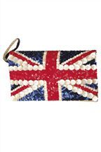 British flag purse. How 'bout one with studded British flag? Check out www.AliceWonders.com