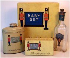 The CPC (California Perfume Company) Baby Set  ~1923-1925