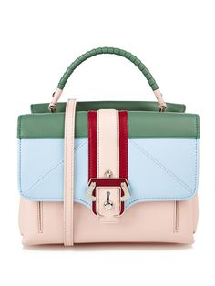 Paula Cademartori Petite Faye leather shoulder bag