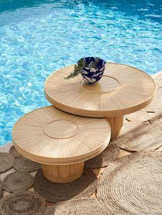Table d/'appoint 2er Kit blanc moderne table basse Brillant Design Table-Set NEUF