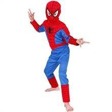 Spiderman üst çocuk Kostüm 3 6 Yaş