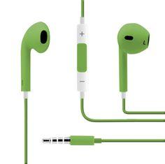 Auriculares Con Manos Libres Verde
