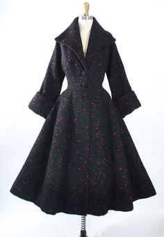 Vintage 1950s Lilli Ann Princess Coat // www.geronimovintage.etsy.com