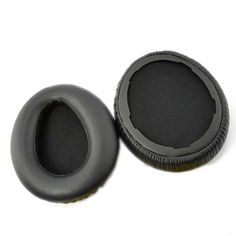 Pair of Replacement Ear Pads Cushions for Sony MDR-10RBT / MDR-10RNC / MDR-10R Headphone (Black) | #HeadphoneCase
