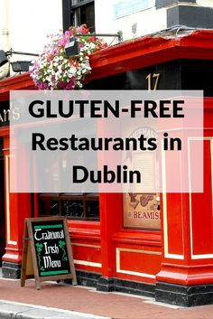 Gluten-free restaurants in Dublin: Safe for celiac disease