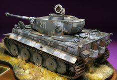 模型製作報告書【プラモログ】の画像|エキサイトブログ (blog) Tiger Painting, Tank Armor, Tiger Tank, Model Tanks, Tank You, World Of Tanks, Fun Hobbies, Panzer, Dioramas