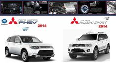 Mitsubishi Outlander PHEV & Pajero Sport 2014 Workshop Manuals.