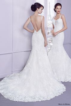 Rico-A-Mona 2015 Wedding Dresses — Parisian Blush Bridal Collection | Wedding Inspirasi