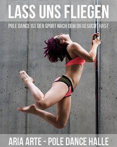 Wir haben tolle neue Kurse für euch. Komm vorbei und probiere sie aus: Sexy Pole - dienstags 19.30 Pole Fit für Anfänger - mittwochs & donnerstags 20.15  #ariaarte #poledancehalle #poledance #polefitness #polesport #pole #getfit #bestrong #besexy #halle #hallesaale