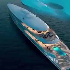 Did Bill gates buy the hydrogen Aqua yacht? Yacht Design, Boat Design, Super Yachts, Yatch Boat, Bateau Yacht, Best Luxury Cars, Speed Boats, Power Boats, Fast Boats