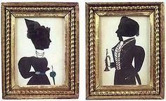 Silhouettes - Puffy Sleeve Artist - 1830-1831 sold for $15,080 in 2006