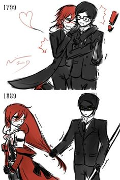 Grell Sutcliff x William T. Spears Black Butler