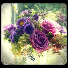 Lavender arrangement Roberts Flowers of Hanover, Hanover, NH