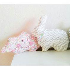Bunny cushion, handmade by Adaesintileri