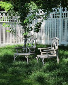 Fawn Hill Garden Urns, Porch Garden, Garden Chairs, Patio, Concrete Forms, Concrete Garden, Concrete Outdoor Furniture, Papercrete, Outdoor Chairs