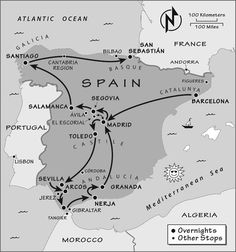Spain Itinerary: Where to Go in Spain by Rick Steves | ricksteves.com  Want to see the world and know someone looking to make a hire? Contact me, carlos@recruitingforgood.com