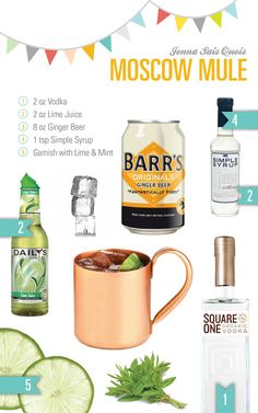 Moscow Mule by uber-talent Jenna Brucoli!  I will be making this favorite drink of Oprah's in honor of her final episode.  :)