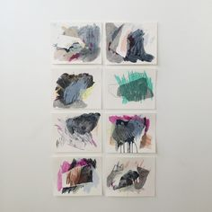 New Drawings : Boulder Studies by Heather Day