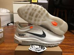 d5746f767f4d goVerify Genuine Seller  23 Sneakerheadz  One of our favorite sellers on  eBay. For Sale  Nike Off-White Air Max 97.