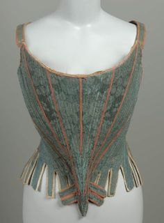 Stays  French, about 1750