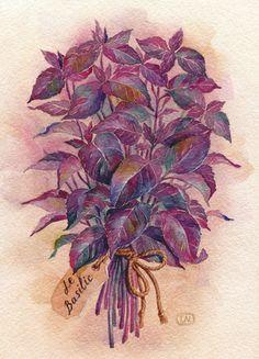 YUM;) la Provence by Natalia Tyulkina, via Behance