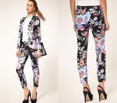 Printed pants are hot new trend that can dress up or dress down an outfit