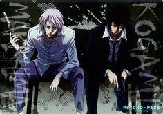Makishima Shougo, Kougami Shinya - Psycho Pass