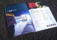 Hanson Asphalt Solutions brochure internal spread | Michon Creative