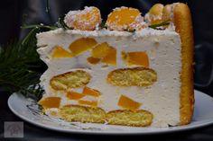 Tort diplomat cu piersici din compot - CAIETUL CU RETETE Cake, Desserts, Tailgate Desserts, Deserts, Kuchen, Postres, Dessert, Torte, Cookies