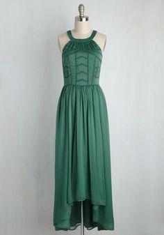 Brave New Whirl Dress in Fern