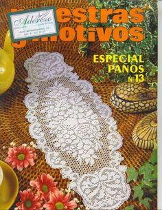 crochet - caminhos de mesa -runners - Raissa Tavares - Picasa Web Albümleri