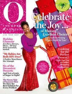 O, The Oprah Magazine Cover, December 2013