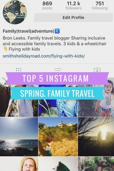 Instagram Family Travel - Smiths Holiday Road