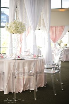 Ghost Chairs | Modern Japanese Wedding Inspiration | World Trade Center Seattle Wedding | Seattle Wedding Planner | New Creations Wedding Design & Coordination | Alante Photography