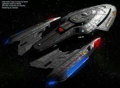 The Interceptor-class was a Federation assault cruiser that entered service in Spaceship Art, Spaceship Design, Vaisseau Star Trek, Science Fiction, Starfleet Ships, Starship Concept, Sci Fi Spaceships, Sci Fi Ships, Star Trek Starships