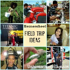 Homeschool Field Trip Ideas | www.TheHomeschoolVillage.com Take every available opportunity to learn. My brother and I always loved(still do) touring Civil War battle fields and seeing reenactments.