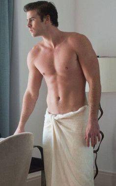 Liam Hemsworth - I have no words...