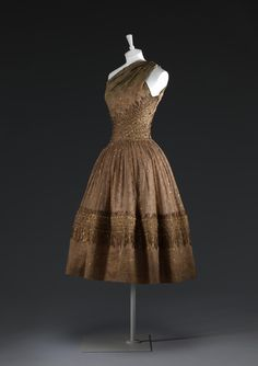 1955 Dior ''Soirée de Lahore'' evening dress