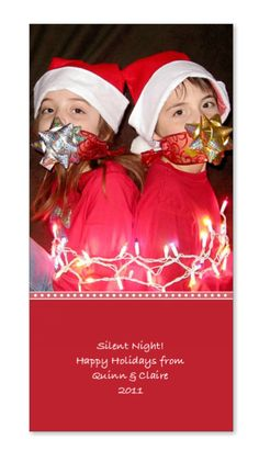 Silent night christmas card kids tied up respond to this topic christmas card 2011 christmas cardsholiday m4hsunfo