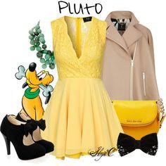 """""""Pluto - Disney"""" by rubytyra on Polyvore"""