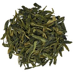 Organic Lung Ching or often called Dragonwell organic green tea is known for its mild slightly sweet flavor. Organic Green Tea, Roasting Pan, Lunges, Herbs, Verify, Confident, Sword, Sustainability, Notes