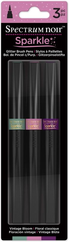 Spectrum Noir Sparkle Pens 3pc Set - Vintage Bloom