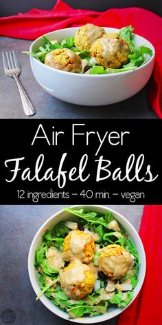 Air Fryer Falafel Ba