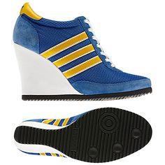 adidas Jeremy Scott Arrow Wedge Shoes